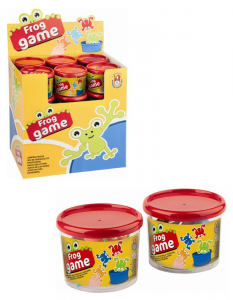 ANDRONI Jar Game Frogs That Saltano Colored