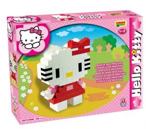 ANDRONI Scatola costruzioni unico hello kitty 106 pezzi gioco per bambini