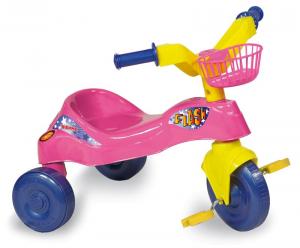BIEMME Triciclo flash rosa 01377 gioco tradizionale per tutti