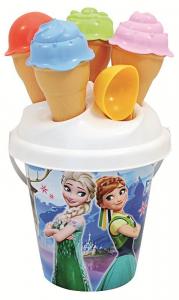 ADRIATIC Secchiello diam.16 frozen + coni gelato gioco da spiaggia