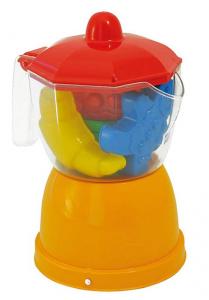 ADRIATIC Set moka plastica colorata con formine gioco da bambino