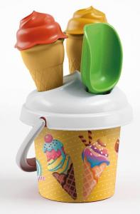 ADRIATIC Secchiello ice cream 925 gioco da spiaggia