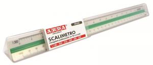 ARDA Scalimetro triangolare a 6 scale per edilizia 30cm articolo da ufficio