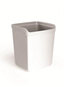 ARDA Porte Penne in plastica Couleur Blanc Articolo da ufficio