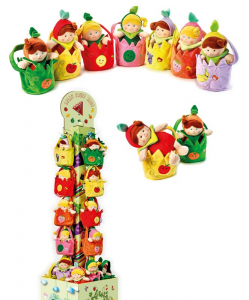 VENTURELLI Lelly fruit bag 799124 peluche per bambini