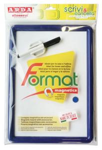 ARDA Lavagna magnetica termoformata pennarello cancellino magnetico+un magnete