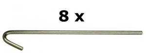 CAMPEX Busta 8 spilloni cx18 586731 accessorio da campeggio