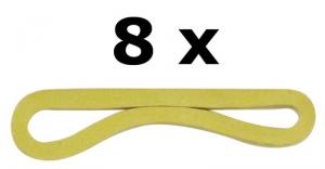 CAMPEX Elastici 8 pz.80 8x4 587575 accessorio da campeggio