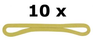 CAMPEX Elastici 10 pz.100 4x 587581 accessorio da campeggio