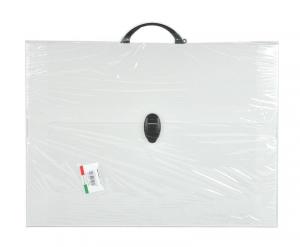 BALNMAR2000 Valigetta polionda colore neutro 27 x 37 x 8cm