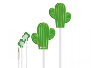 I-TOTAL Auricolari cactus per ascoltare musica audio