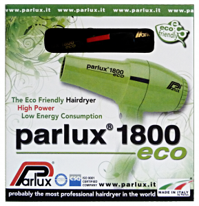 PARLUX Phon 1800 Eco Black Hairdryer
