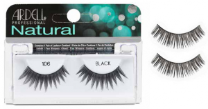 ARDELL Ciglie Finte Natural Strip 101 Demi Black 65001 Articolo Make-up