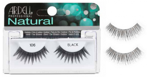 ARDELL Ciglie Finte Natural Strip 105 Black 65002 Articolo Make-up