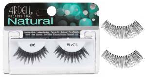 ARDELL Wimpern Fälschung Natural Streifen 117 Schwarz 65005 Artikel Make-up
