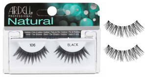 ARDELL Lashes Fake Natural Strip 120 Demi Black 65092 Article Make-up