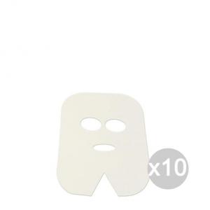Set 10 Maschera Trattamento Viso Tnt * 100 Pezzi Roial