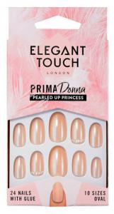 ELEGANT TOUCH Unghie finte adesive pearled up princess articolo per la cosmesi