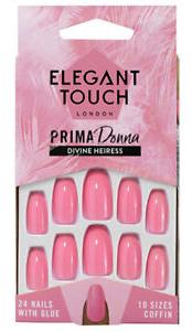 ELEGANT TOUCH Unghie finte adesive divine heiress prodotto cosmetico per unghie
