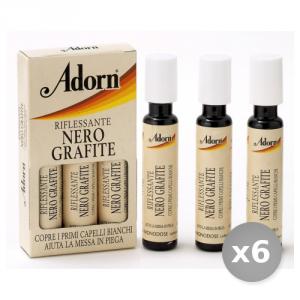 Set 6 ADORN Fiale Grafite x 3 Pezzi Prodotti per Capelli