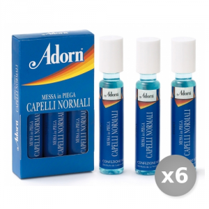 Set 6 ADORN Fiale Normali 3 Pezzi Prodotto per Capelli
