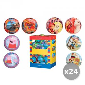 Set 24 GLOBO Pallone Cartoni Animati 07219 Giocattoli