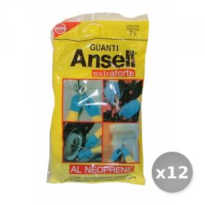 Set 12 ANSELL Guanti Extraforti Taglia m - Guanti