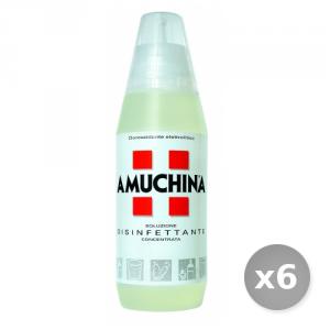 Set 6 AMUCHINA 500 ml Soluzione Disinfettante Disinfettanti e Igienizzanti