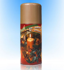 oro spray 150 ml 25550 feste ricorrenze natale