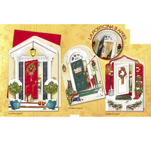 CROMO N.B. Pack 12 Pieces Tickets Welcome nel Christmas Nt.3414 Christmas