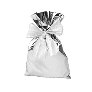 P.N.P. plastica sacchetti 16x25 argento neutro confezione 50u011ann natale