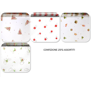Plastic Set 25 Packs Cellophane 100x130 Christmas Ff051tjxf100 Assorted Packaging Packaging Gift
