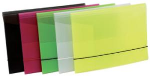 BLUEKOVER.COM cartella 3l con elastico fluo fluo-9 registratore