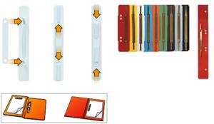 ACCO BRANDS Set 50 Packungen Fastners Metall 70850 Schachtel X50 Von Stück Verschiedene Farben