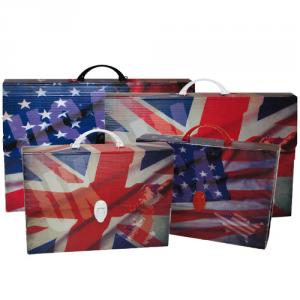 BALMAR 2000 valigetta polionda 28x38x8 flags bandiere 254 raccoglitore