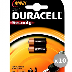 Set 10 DURACELL Batterie Mn21 12 Volt Bl2 Pièces Services Général Pile