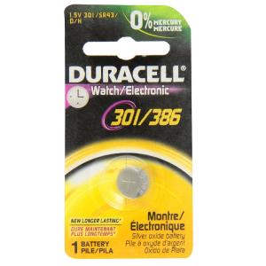 DURACELL Batterie D386 / 301 Services Général Pile