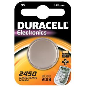DURACELL batteria d2450 3 volt litio dl 2450 servizi generali pila