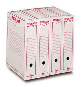 ACCO BRANDS Caja Almacenamiento Legal 00160200 9x37x26 Cm Dossier