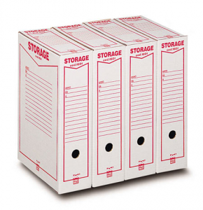 ACCO BRANDS Boîte Stockage A4 00160100 9x33x23 Cm Dossier