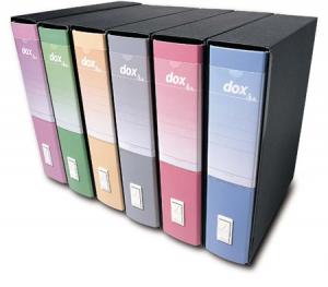ACCO BRANDS Enregistreur Dox 2 D15216 D8 Bleu Protocole Dossier