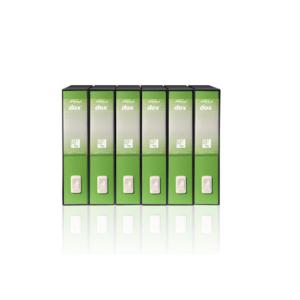 ACCO BRANDS registratore dox 2 d26226 d.8 verde dossier