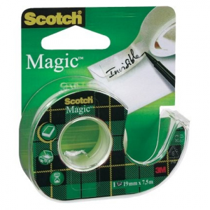 3M SCOTCH Rotolo Adesivo Magic 810 + Chiocc.19x7,5 3 m 98493 8-1975d Cancelleria