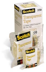 3M SCOTCH Set 10 Confezioni Rotolo Adesivo 3 m 66x15 550 Caramella 63521