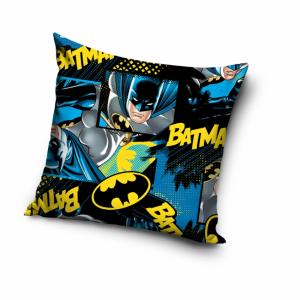 BATMAN cuscino arredo quadrato in microfibra 40x40 cm blu-nero