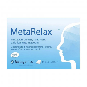 METARELAX 40 BUSTINE - INTEGRATORE DI MAGNESIO