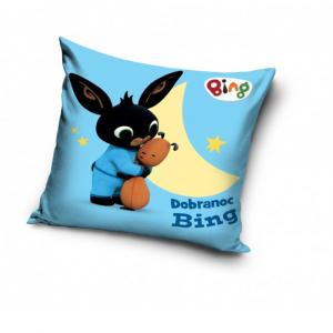 BING BUNNY cuscino quadrato per bambini 40x40 cm Buonanotte azzurro