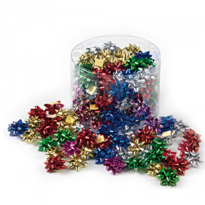 BRIZZOLARI Stars Splendid 3.5mm Assorted 00 100 Pieces 4170 Assorted 00 Christmas Packaging Gift