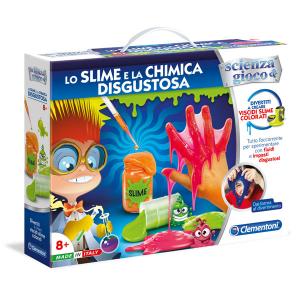 CLEMENTONI gioco chimica disgustosa/slime 19044.7 bimbo bambino