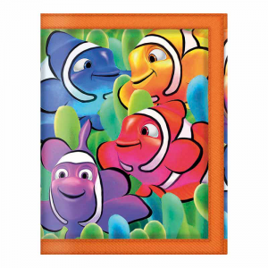 3D EN DIRECT LIFE Portefeuille Poisson Clown 38621 Cahier
